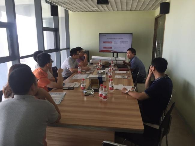 中国移动通信宁波分企业领导一行来我司参观交流