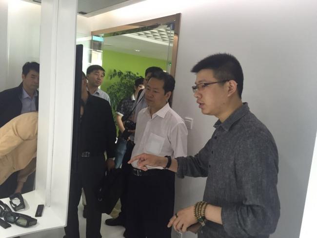 中共淄博市委&温州瓯海区委领导一行陆续参观我司